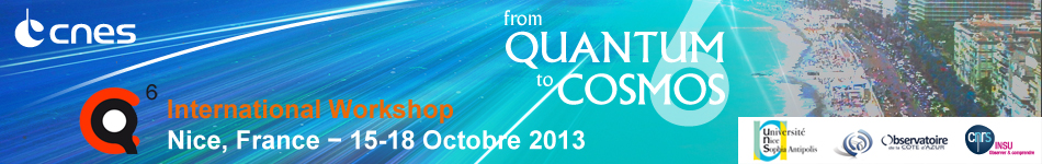 From Quantum to Cosmos 2013